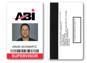 Credential Card with Barcode and/or Mag Stripe